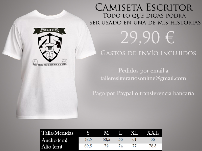 cartelcamisetaescritor